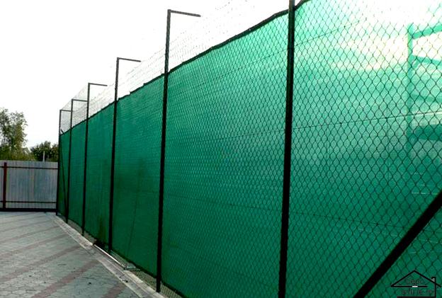 Plasa de umbrire verde 4 m grad umbrire 80% [0]