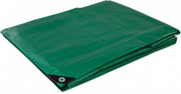 Prelata impermeabila cu inele 120 gr/mp dimensiune 4 x 6 m, verde 3