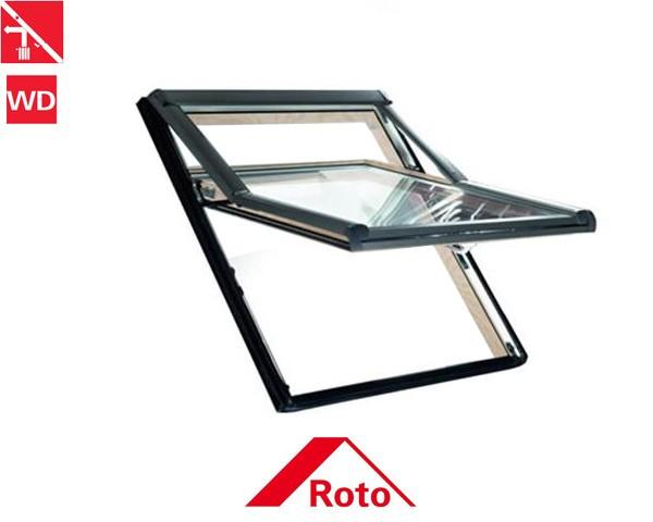 Fereastra Mansarda Roto R75 H Lemn [0]
