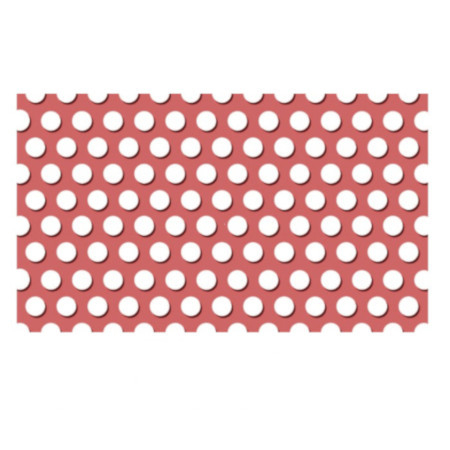 Tabla perforata aluminiu colorat 0
