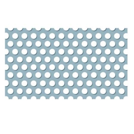 Tabla perforată titan-zinc patinat 0