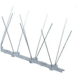Țepi împotriva păsărilor Inox/PVC 3