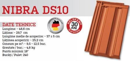 Tigla ceramica NIBRA DS10 3