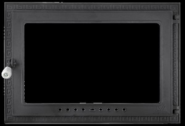 usa semineu din fonta cu geam termorezistent [1]