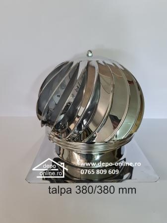 Capac (palarie terminal) rotativ cu talpa din inox [1]