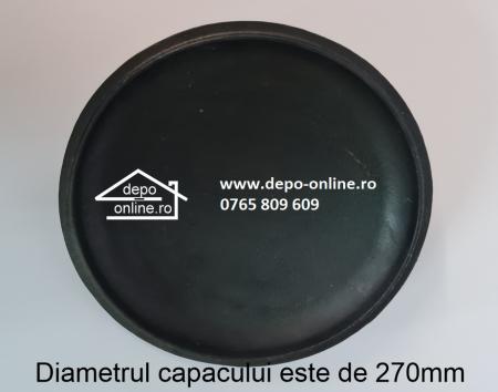 Ceaun din fonta cu capcac [3]