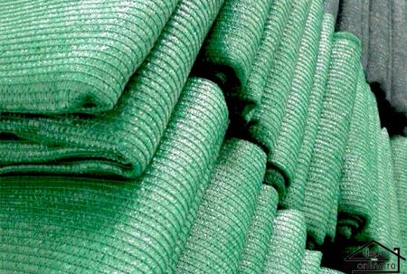 Plasa de umbrire verde 2 m grad umbrire 70% [0]