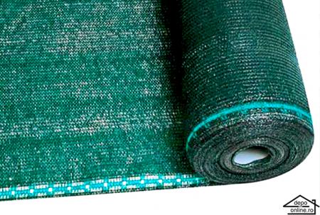 Plasa de umbrire verde 2 m grad umbrire 90%1