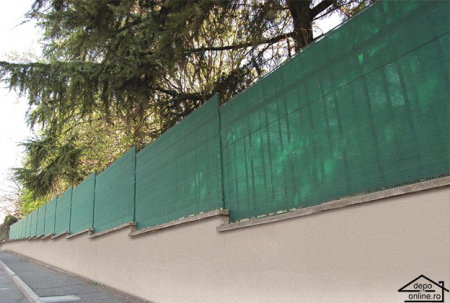 Plasa de umbrire verde 2 m grad umbrire 90%2