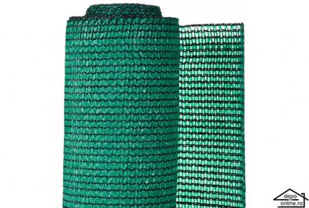 Plasa de umbrire verde 1 m grad umbrire 90%0