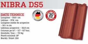 Tigla ceramica NIBRA DS5 [7]