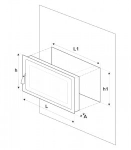 usa semineu din fonta cu geam termorezistent [4]