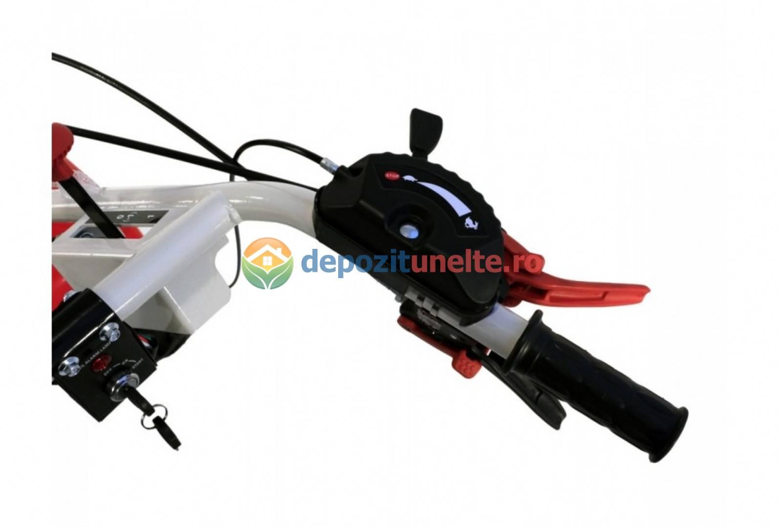 MOTOCULTOR LONCIN LC1440 DIESEL 9,5CP CU ROTI 5.00-124