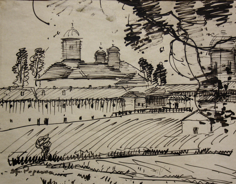 Ștefan POPESCU, Mănăstirea Cernica