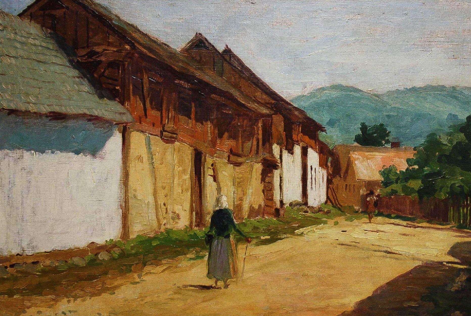 BARÁT Móric, Țărancă pe uliță, 1943
