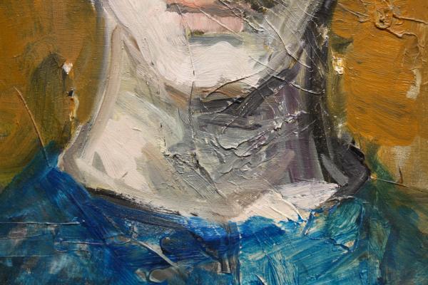 GYŐRFFY Éva, Portret de fată 2