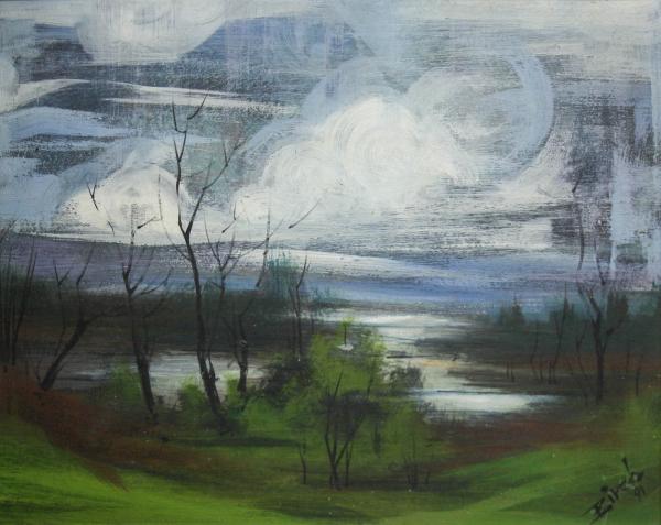Biro I Geza, Peisaj cu lac, 1991 [0]