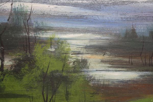 Biro I Geza, Peisaj cu lac, 1991 [2]