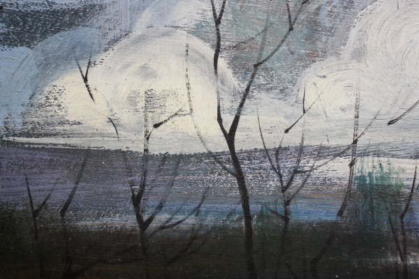 Biro I Geza, Peisaj cu lac, 1991 1