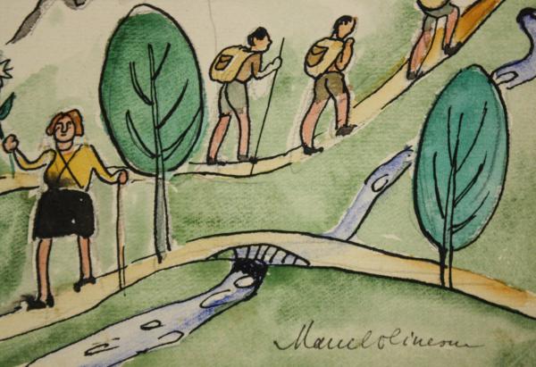 Marcel OLINESCU, Pe cărări de munte 2