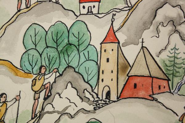 Marcel OLINESCU, Pe cărări de munte 1