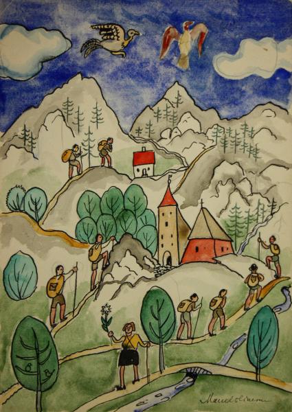 Marcel OLINESCU, Pe cărări de munte 0