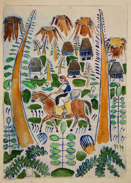 Marcel OLINESCU, Ilustrație basm 0