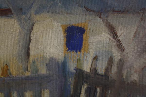 KRISTÓFI János, Peisaj de iarnă, 1964 [1]