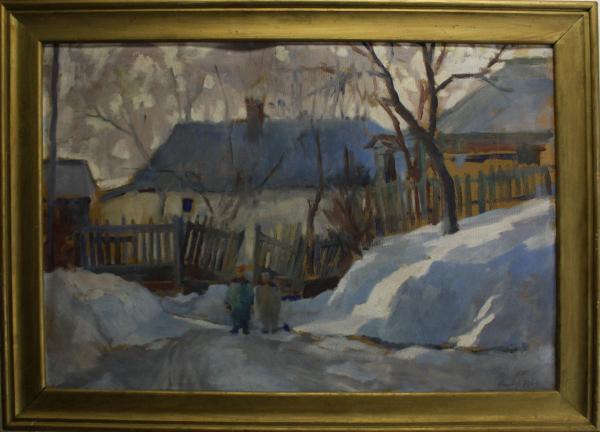 KRISTÓFI János, Peisaj de iarnă, 1964 [3]