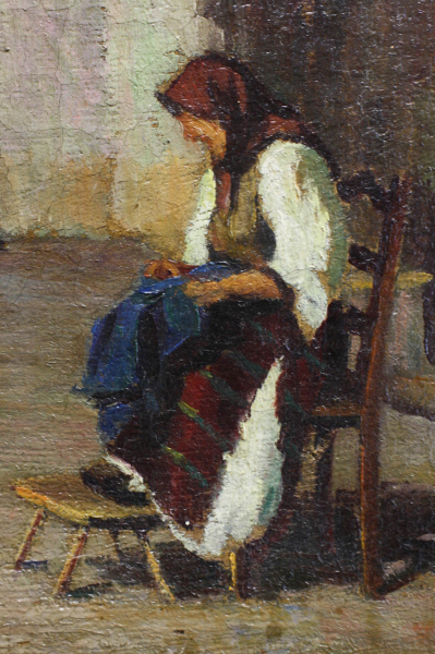 BALLA Béla, Țărancă în bucătărie (după Grigorescu), 1938 [1]
