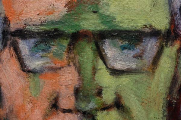 HAJÓS Imre László, Autoportret 1