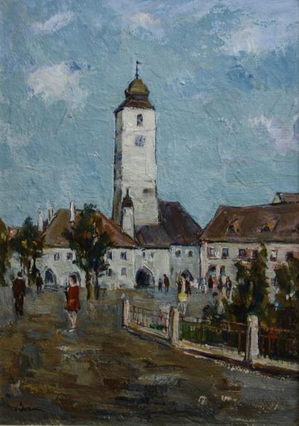 Ștefan BOCA, Turnul Sfatului din Sibiu 0