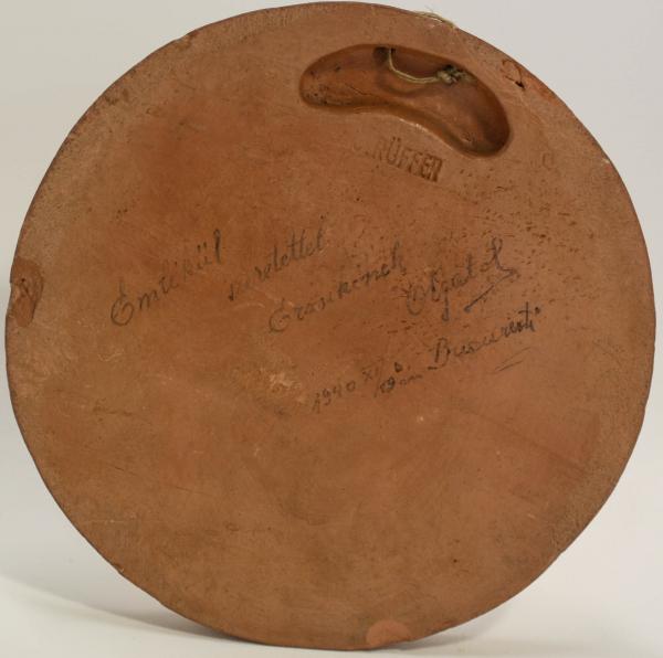 C. RÜFFER, Medalie comemorativă - Beethoven, 1940 2