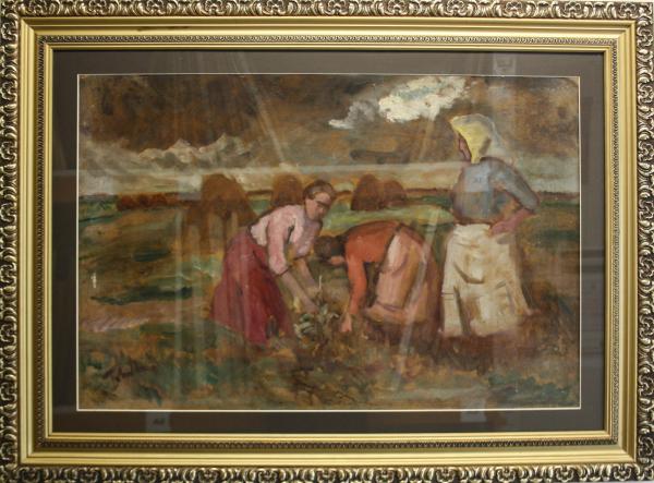 TIBOR Ernő, Țărănci pe câmp 4