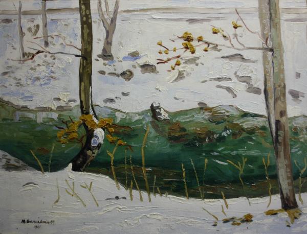 BARABÁS Márton Márkusfalvi, Marginea râului, 1921 0