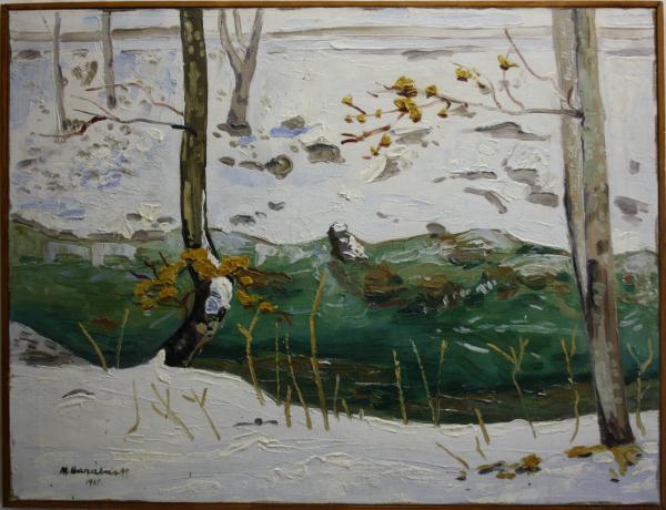 BARABÁS Márton Márkusfalvi, Marginea râului, 1921 2
