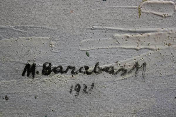BARABÁS Márton Márkusfalvi, Marginea râului, 1921 1