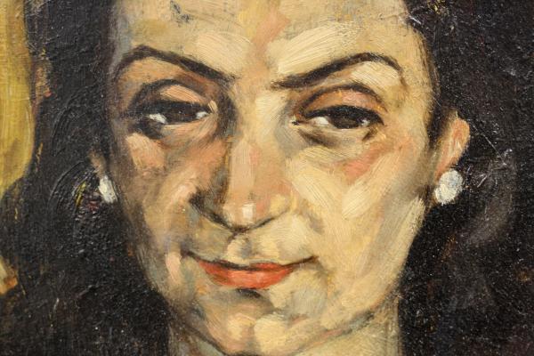 HAJÓS Imre László, Portretul soției 1