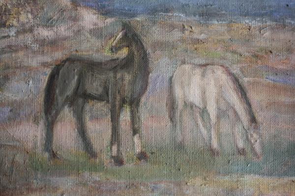 Gheorghe GHERMAN, Țăran cu cai la câmp 1