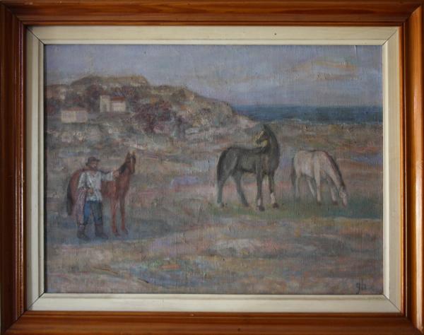 Gheorghe GHERMAN, Țăran cu cai la câmp 3