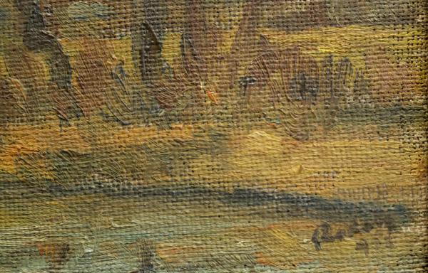 RODAN Yehuda (István), Peisaj cu râu 2