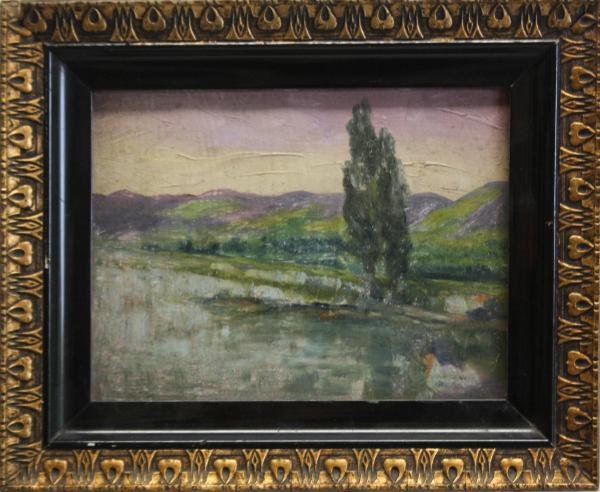 Peisaj cu lac 2