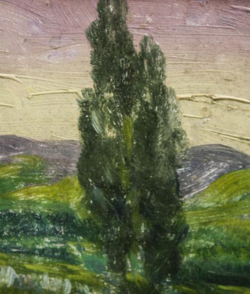 Peisaj cu lac 1