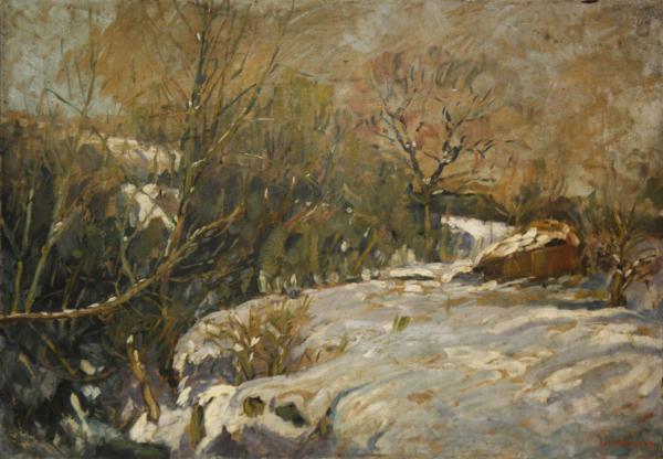 Nicolae IRIMIE, Winter Landscape, 1933 [0]