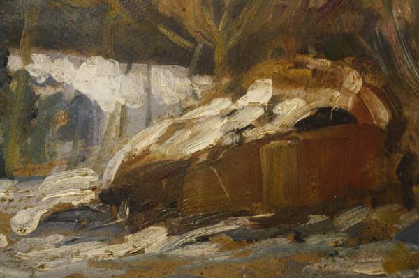 Nicolae IRIMIE, Winter Landscape, 1933 [1]