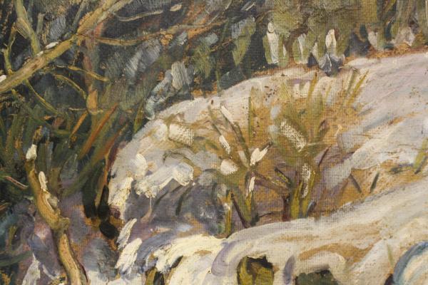 Nicolae IRIMIE, Winter Landscape, 1933 [2]