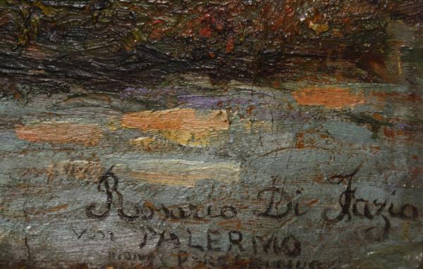 Rosario Di FAZIO, Apus marin la Palermo, 1945 3