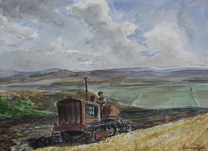 ANDRÁSY Zoltán, La arat, 1952 [0]