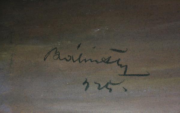 BÁLINT Gyula Idila, Martor involuntar, 1925 [3]