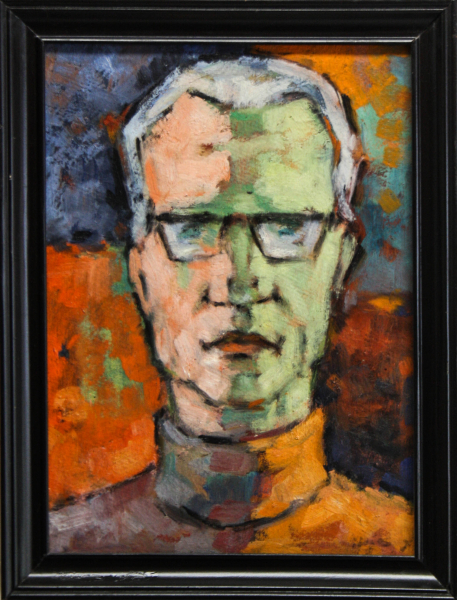 HAJÓS Imre László, Autoportret 3